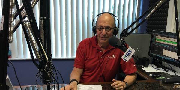 Scott Greenberg doing radio show