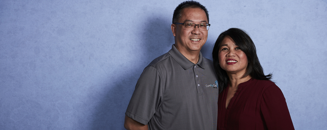 Jon and Cherry Picache, ComforCare North Bergen County Owners