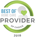 Nashville, TN Home Care Services | ComForCare - 2018_provider_of_choice_0