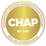 Senior In-Home Care | ComForCare | Lower Bucks, PA - CHAP_Provider_Seal_Gold