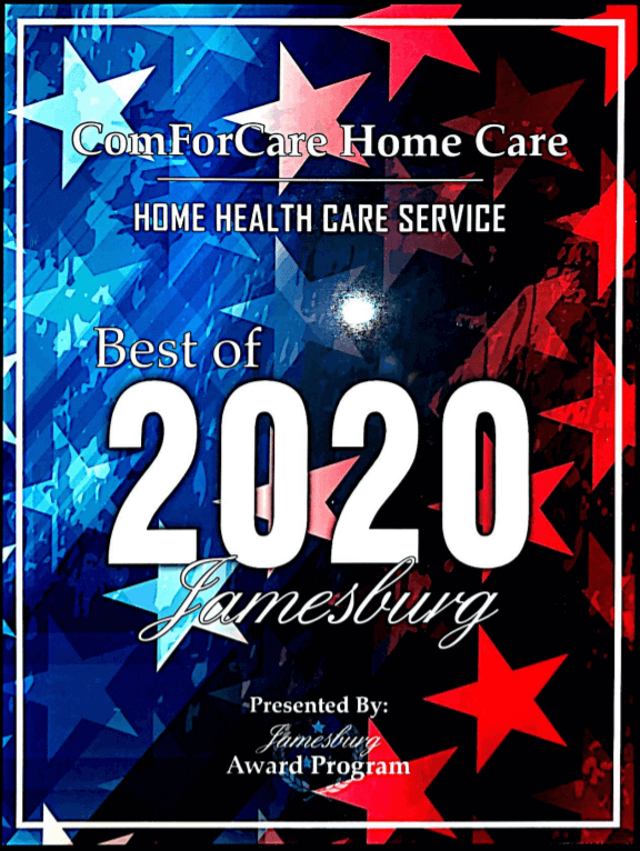 Southern Middlesex - Jamesburg, NJ | ComForCare - Chitra-Award_2020