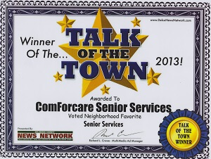 Delaware County - Media, PA | ComForCare - Talk_of_the_Town_winner_2013_2_(1)