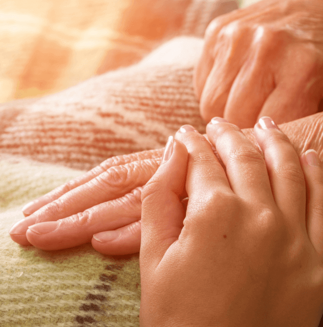 Dementia Care and Alzheimer's Home Care - DementiaWise® | ComForCare - image-content-hands