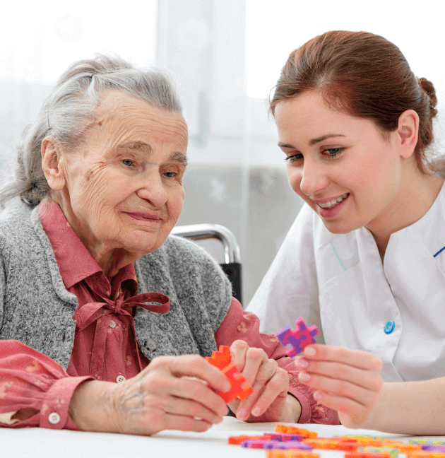 Dementia Care and Alzheimer's Home Care - DementiaWise® | ComForCare - image-content-puzzle