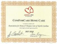 In-Home Senior Care | ComForCare | Greenville, NC - wilsoncertificate_0